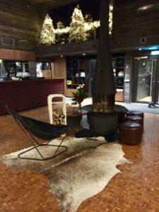 arctic-treehouse-hotel-rovaniemi-fleimio-trolley-white-lobby